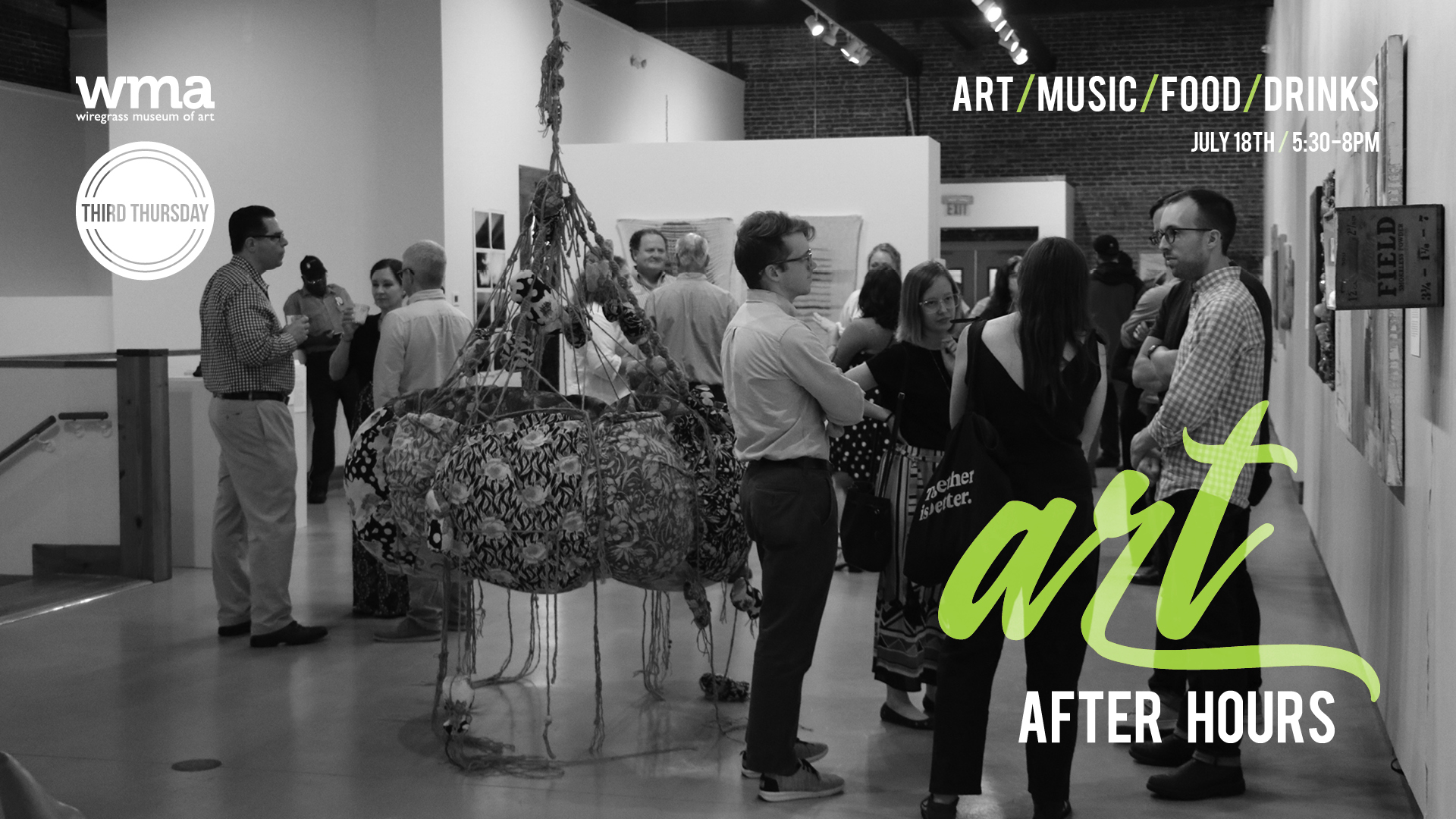WMA's Art After Hours celebrates summer exhibitions