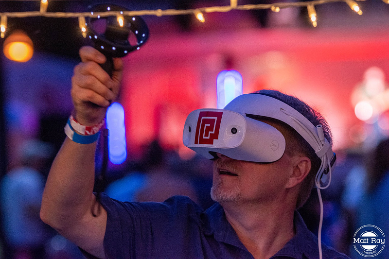 VR experience with PushCrankPress at YPA 2019