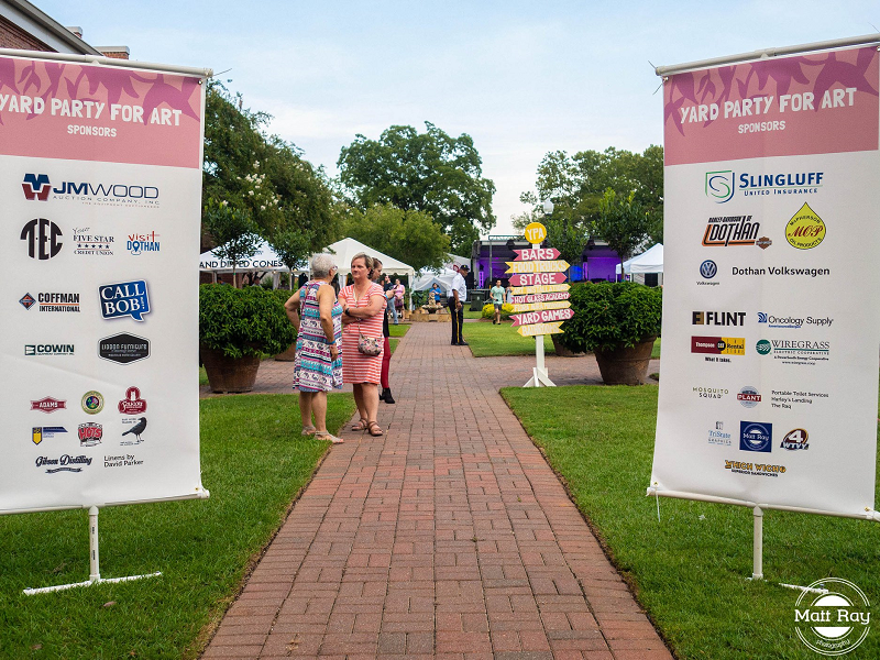 YPA 2019 sponsors banners