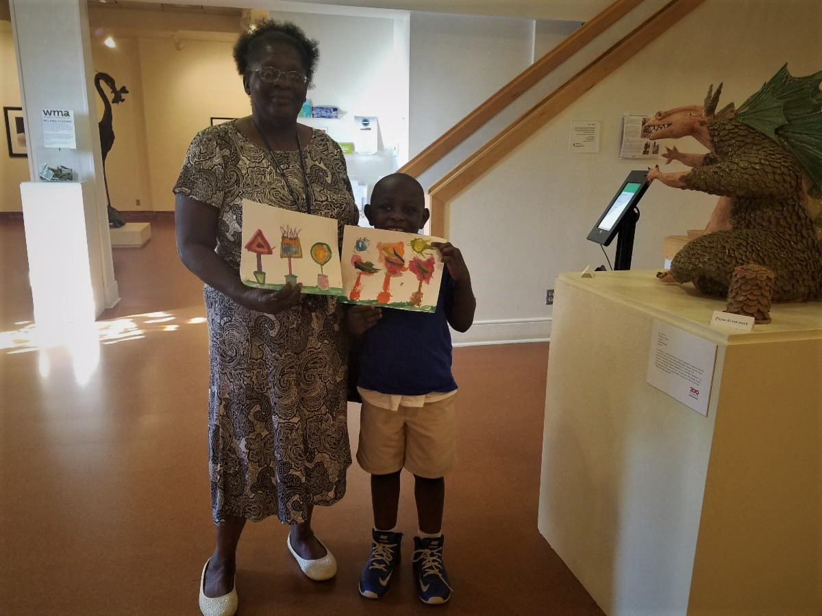 WMA's Impact: Art + Intergenerational Learning