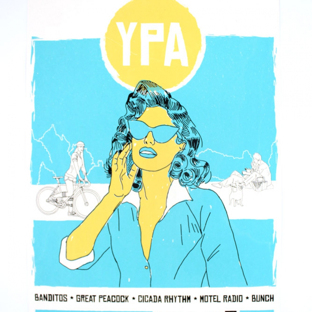 Yard Party for Art 2016 Limited Edition Poster