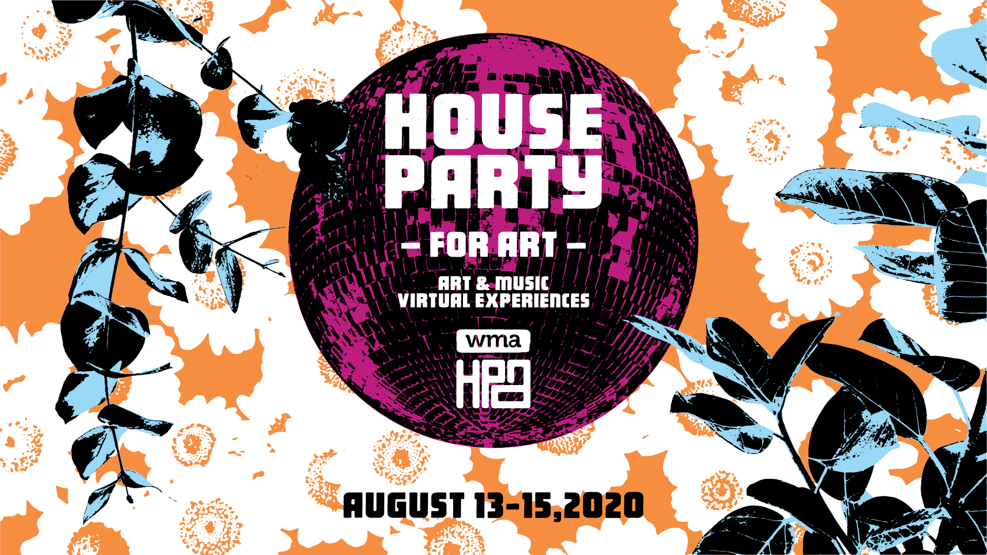 WMA's House Party for Art will celebrate art, music and tech