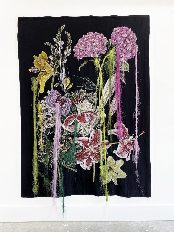 BY A THREAD - Tapestry - Garden Weep