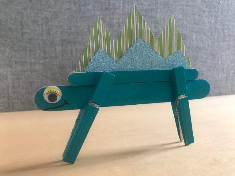 Popsicle Dinosaur
